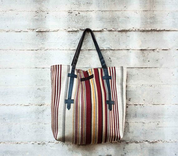 Repurposed Oversized Tote by morelle