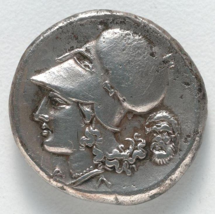 Stater: Athena (reverse), 350-338 BC Greece, Corinth, 4th Century BC  silver