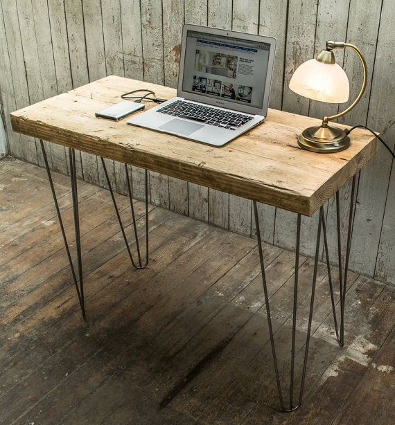Super Chunky Desk / Console Table with Hairpin by BroganAndFrench