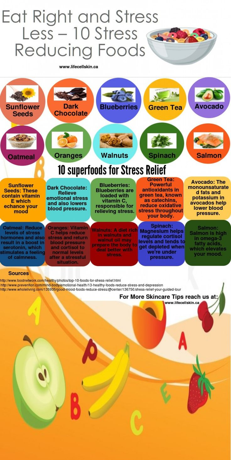 10 Stress Reducing Foods                                                                                                                                                      More