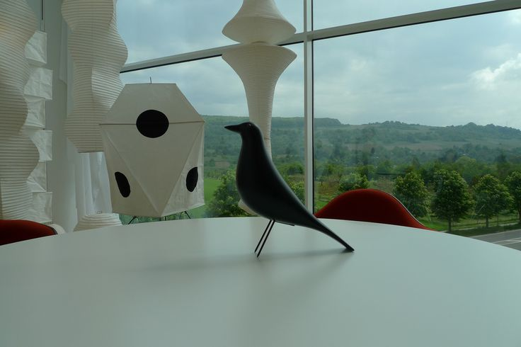 Authentic #Eames House Bird by @vitra @VitraHaus | by stéphane68  Some Isamu Noguchi lamps in the background
