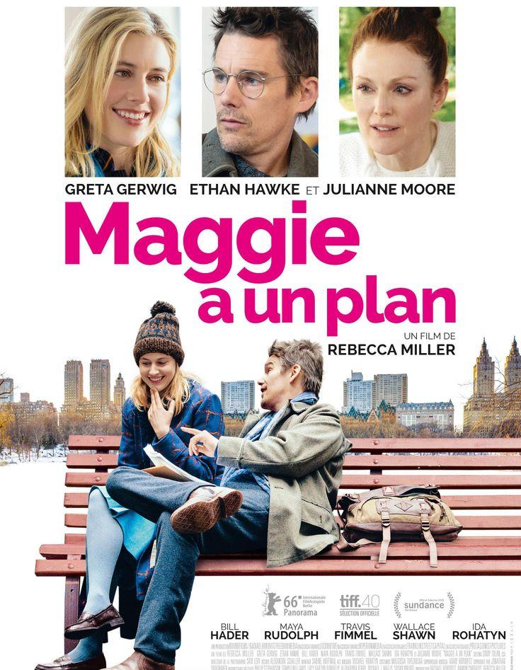 Gagnez vos places pour « Maggie a un plan » de Rebecca Miller  - Elle
