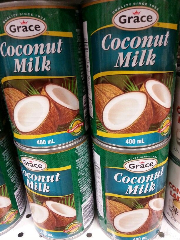 Product: Grace coconut milk.  Store: FreshCo (Bunting Road, St. Catharines).  Coconut milk is a low FODMAP item sometimes used in low FODMAP recipes.  Not to be confused with 'coconut milk beverage' which is a beverage that is consumed as a milk alternative.  Neal Glauser, RD