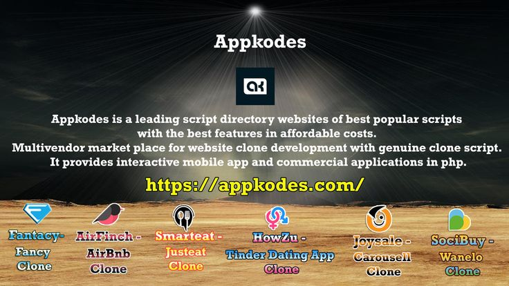 How To Allow Aspirant Entrepreneurs Using Unique Clone Scripts – Appkodes online business which is popular and in demand? No worries! You can start your own venture by getting Unique Clone scripts or by customizing website. https://appkodes.com/allow-aspirant-entrepreneurs-using-unique-clone-scripts/