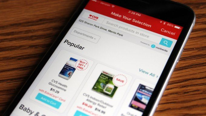 Yelp partners with Curbside to add order pickup to its app for CVS Pizza Hut and more