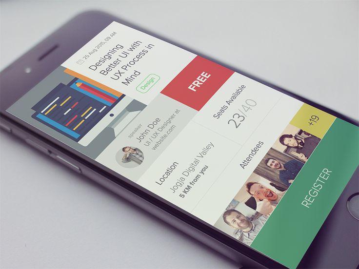 Event App by Bagus Fikri