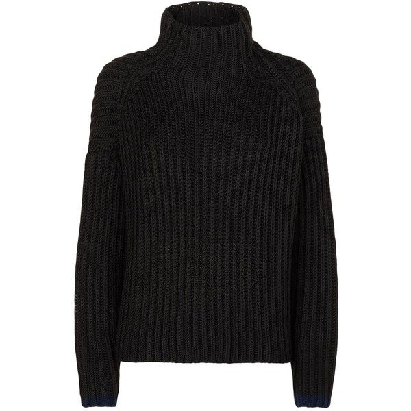 Victoria, Victoria Beckham Chunky Turtle Neck Jumper ($580) ❤ liked on Polyvore featuring tops, sweaters, turtle neck sweater, oversized turtleneck, turtle neck jumper, turtle neck top and turtleneck top