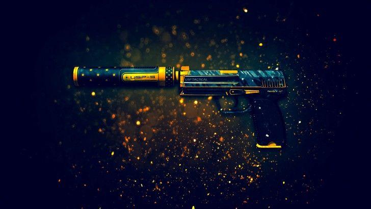 Descarga USP S Pistola Orion Counter Strike Global Offensive Arma 1920x1080 Piel