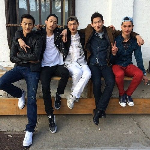top asian male models - zhao lei, sung jin park, daisuke ueda, jae yoo, dae na