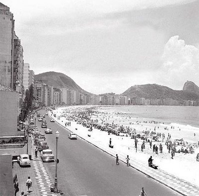 Copacabana. Anos 50.