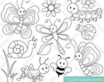 Sea Animals- Digital Stamps – Clipart – Erna heinen
