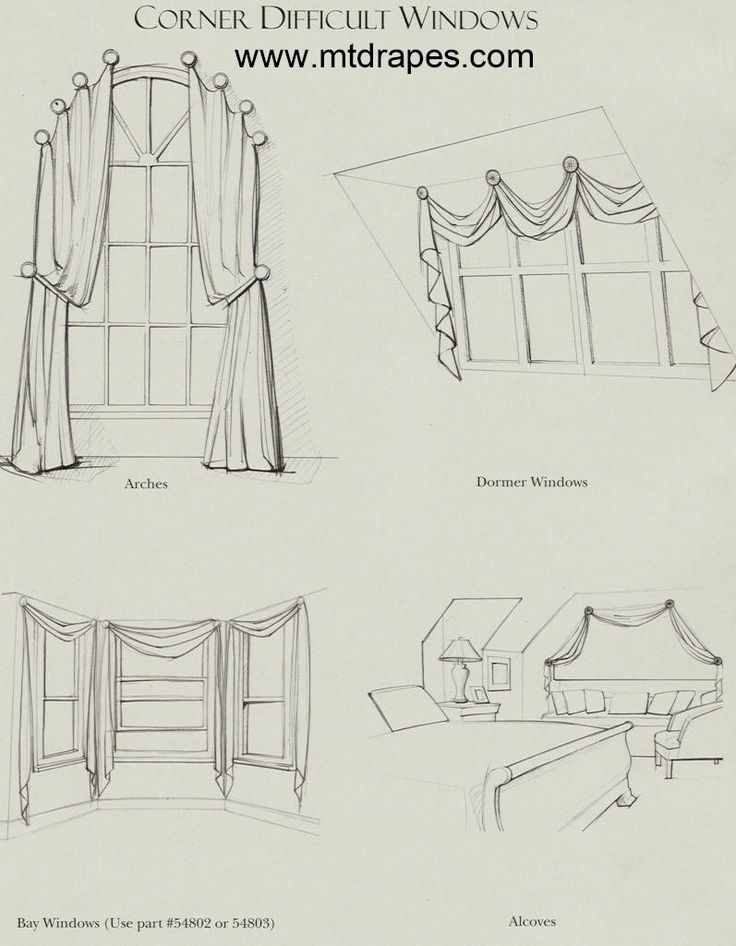 Drapes For Arched Windows | ... rods for arched window curtains interior mall arched window treatments