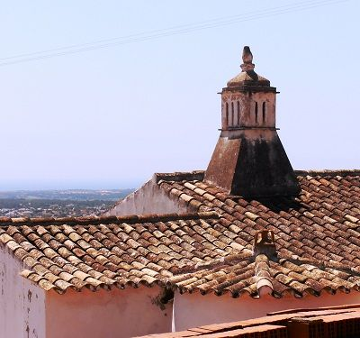 chimney in the Algarve Portugal