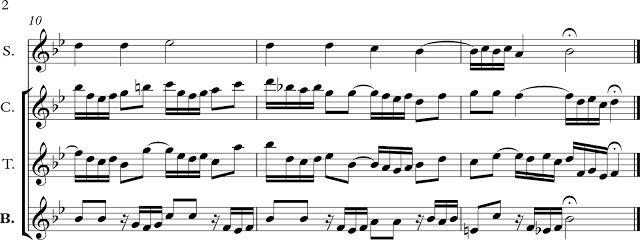 Alle Mensche Mussen Sterben. Juan Sebastián Bach 02