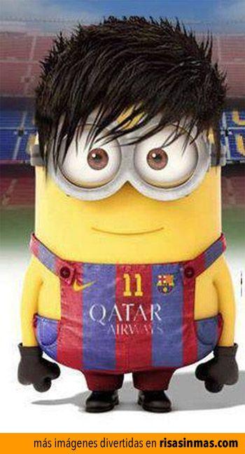 Minion de Neymar.: Jr Minion, Neymar Jr Cbf, Soccer Minions, Of Neymar, Mignons Ces Minions, Jr Neymar, Minions Sport, Futbol Minions