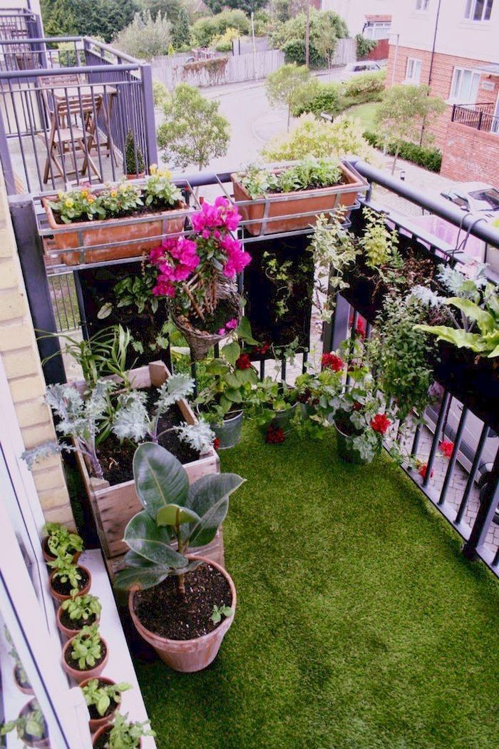 36 Beauty Your Balcony Garden Space On a Budget Small