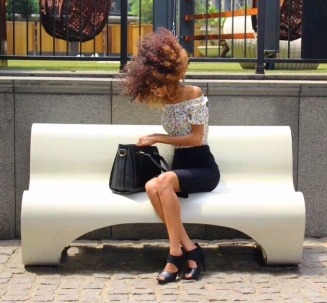 Off-shoulder top trends Streetstyle fashion summer 2016 outfits