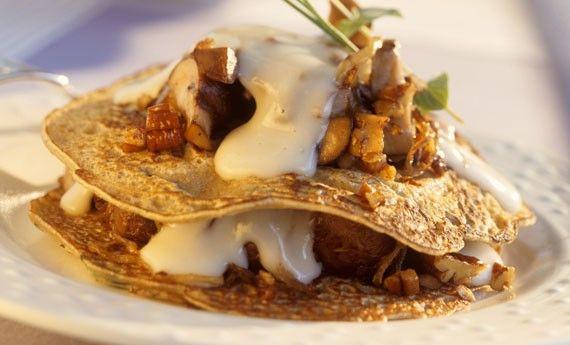 Frittata gorgonzola e noci, la ricetta prelibata e golosa