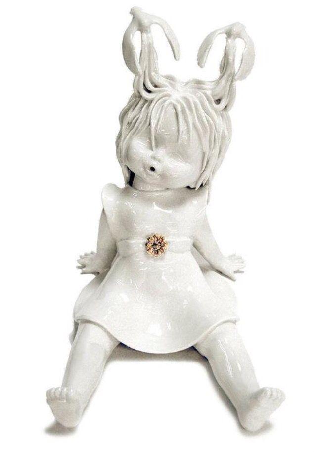 Best Maria Rubinke Images On Pinterest Ceramic Art Ceramic - Amazingly disturbing porcelain figurines by maria rubinke