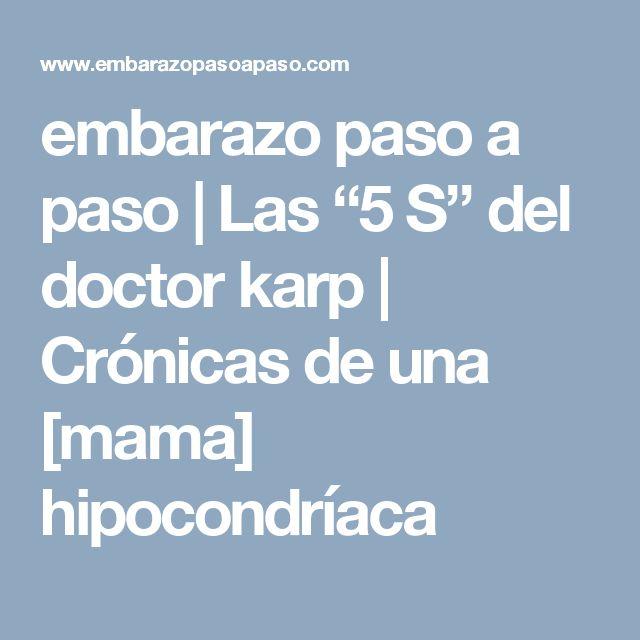 """embarazo paso a paso   Las """"5 S"""" del doctor karp     Crónicas de una [mama] hipocondríaca"""