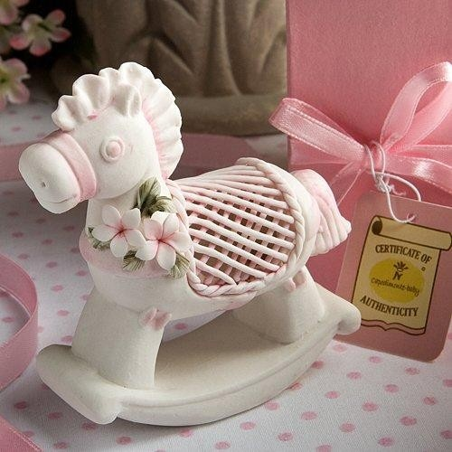 The Thank You Company - Porcelain Rocking Horse - Pink  , $5.49 (http://www.thankyou.on.ca/porcelain-rocking-horse-pink/)