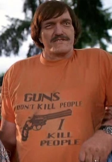 Richard Kiel - Here in Happy Gilmore - most recently - 09/11/2014 - we mourn the loss of actor, Richard Kiel, 74, who passed away earlier today at Saint Agnes Medical Center in Fresno. Kiel was most well known as the villain, Jaws in two James Bond movies.