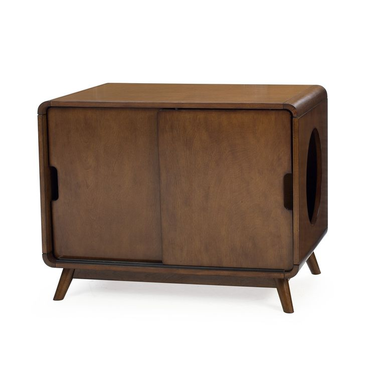 Boomer & George Carter Mid-Century Modern Cat Litter Box | from hayneedle.com