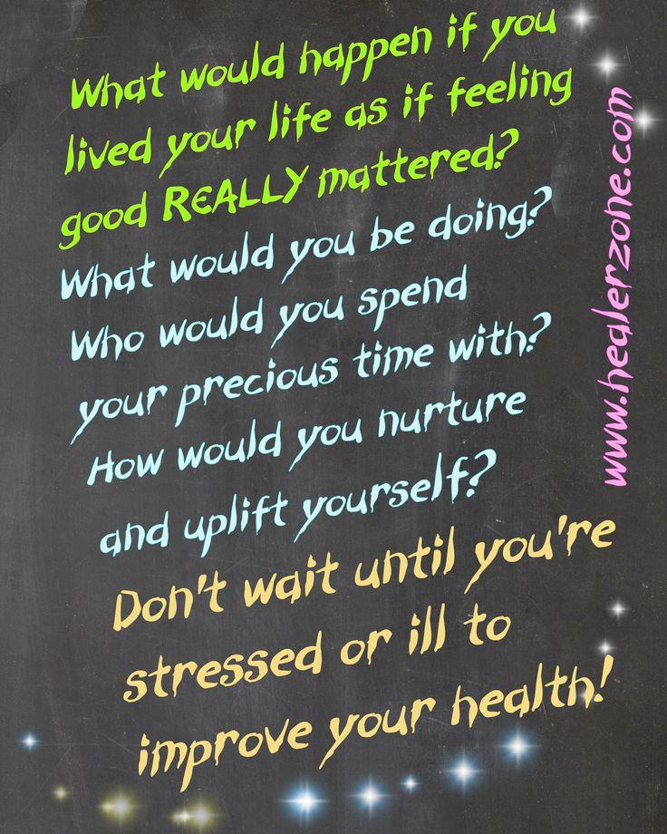 Chalkboard wisdom by Jen Tiller www.healerzone.com and www.jentiller.com