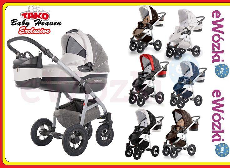 Wózek Tako Baby Heaven Alu EXCLUSIVE Leather ECO (4594391438) - Allegro.pl - Więcej niż aukcje. 2 w 1, 1660