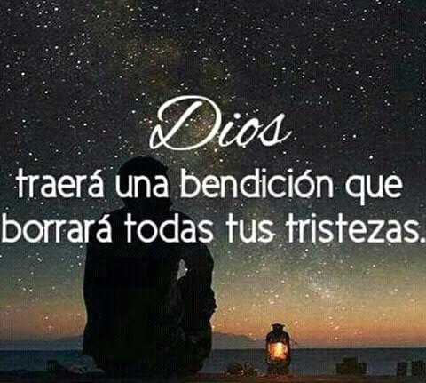 Dios traerá una bendición que borrará todas tus tristezas.