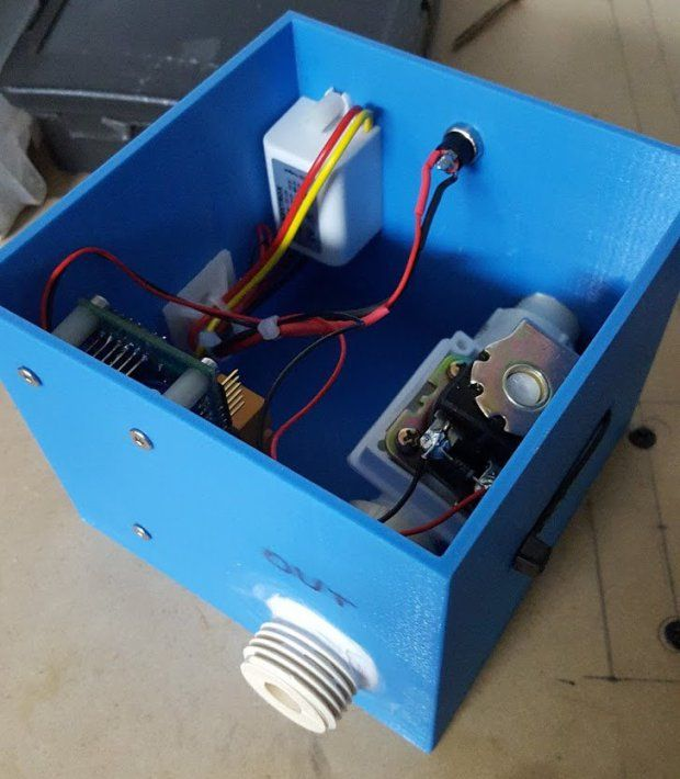 How to Build a Cheap Wi-Fi Controlled Water Valve