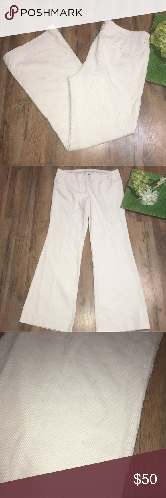 J. CREW NWT City fit luxe cord trouser Waist: 18"