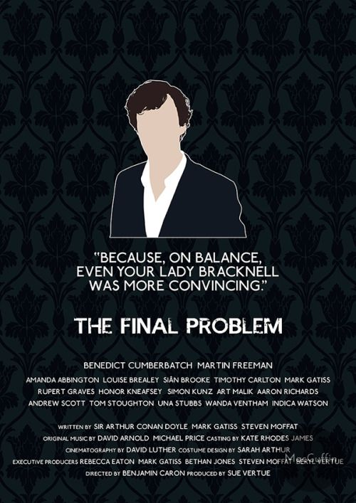 The Final Problem - Sherlock Holmes by MacGuffin Designs Available to buy here: https://www.etsy.com/uk/listing/118995142/sherlock-sherlock-holmes-poster-choose and here: https://society6.com/product/the-final-problem-sherlock-holmes_print