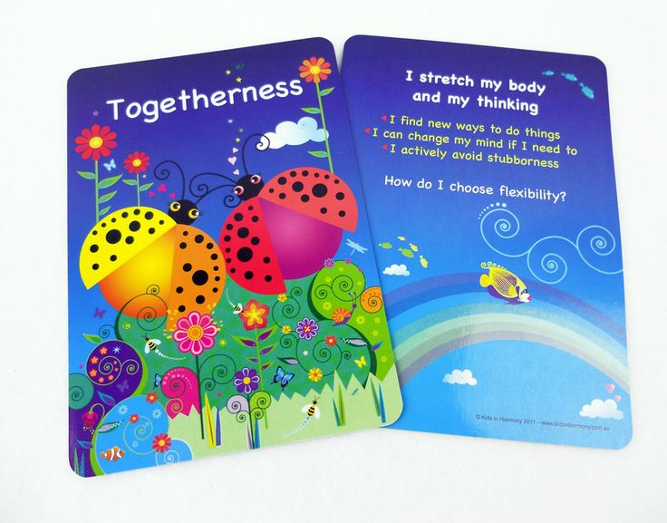 The Harmony Cards for Kids comes with a guidebook offering simple, effective and meaningful ways to bring out the best in each other.  Encouraging, nurturing, noticing, guiding, celebrating and recognising character strengths, virtues and values awareness in our day-to day.