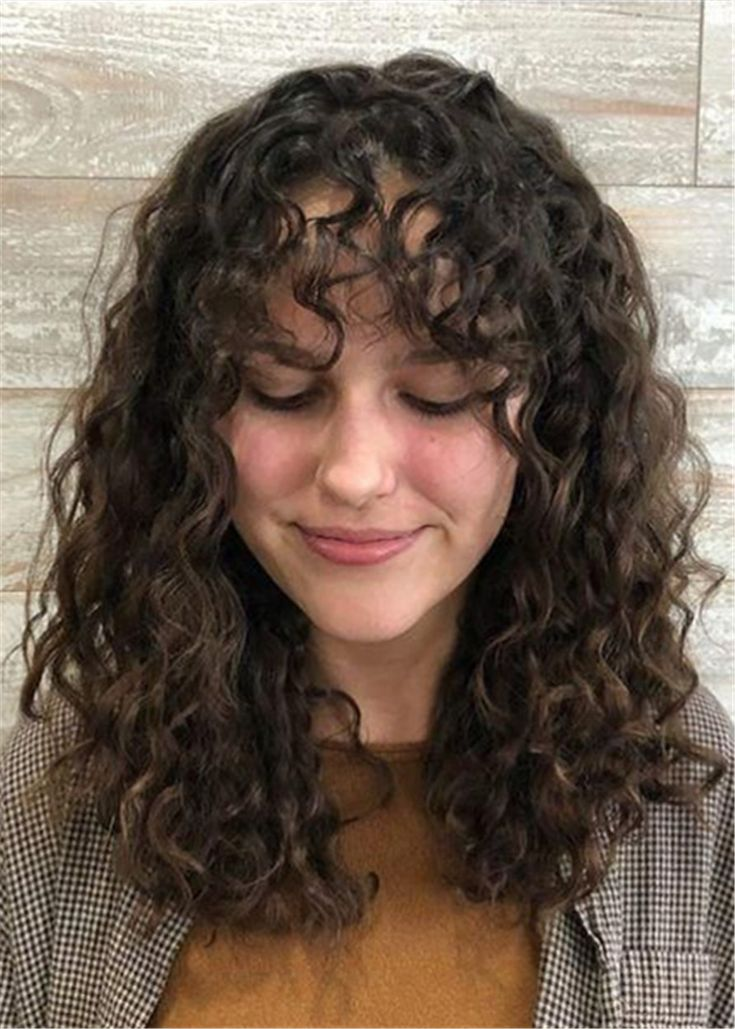 Shoulder Length Curly Human Hair Wig 16 Inches in 2020