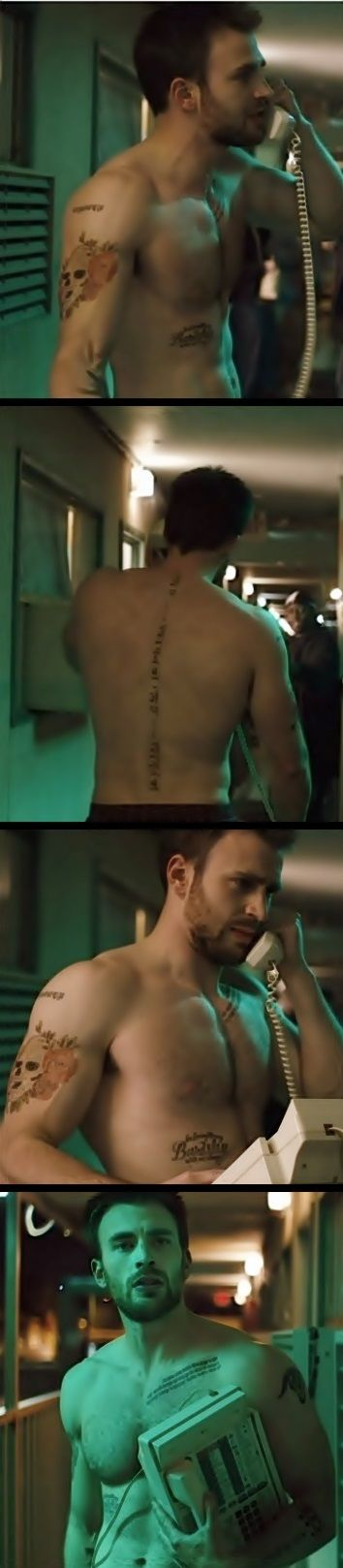 Chris Evans. Does anyone know what this is from?