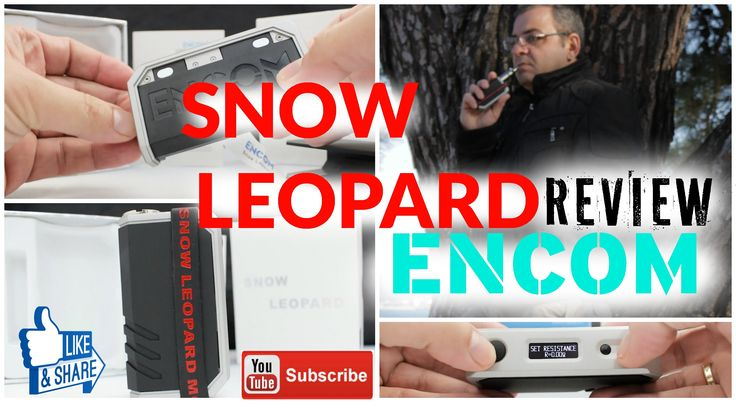 Review Παρουσιαση Snow Leopard mod | ENCOM | VIDEO
