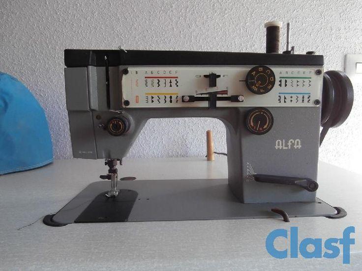 Maquina de Coser ALFA AUTOMATICA 119 con Mesa