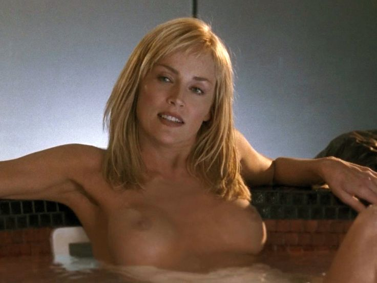 sharon stone naked