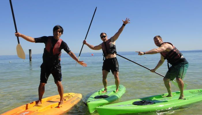 Tangatours: Stand Up Paddle Board Guided Tour #ecotourism #Queensland #Australia