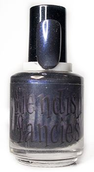 C.1-01: Bride's Bouquiet - inspired by Bride of Frankenstein, from the Baneful Betrothal charity trio for Cystic Fibrosis by Fiendish Fancies ~ 5-Free, vegan, cruelty-free Nail Lacquer hand-poured in Canada