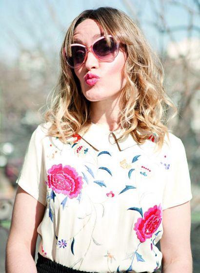 Marina Bellati Hair, makeup, soft waves, blonde waves