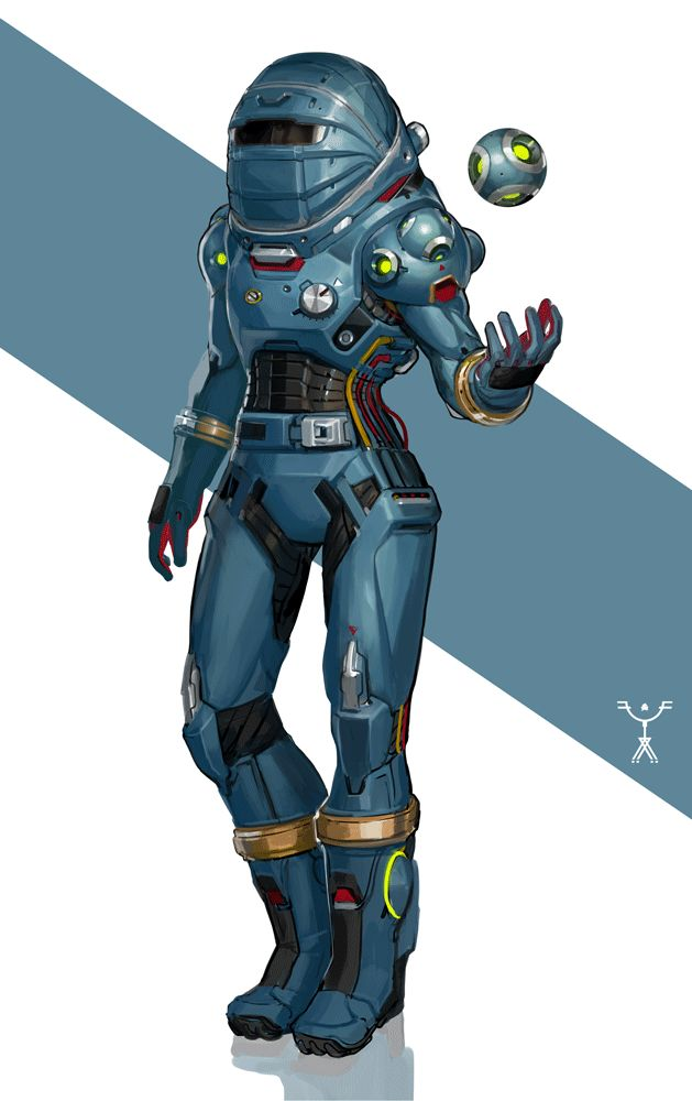 1483 best images about concept on pinterest cyberpunk for Space suit design