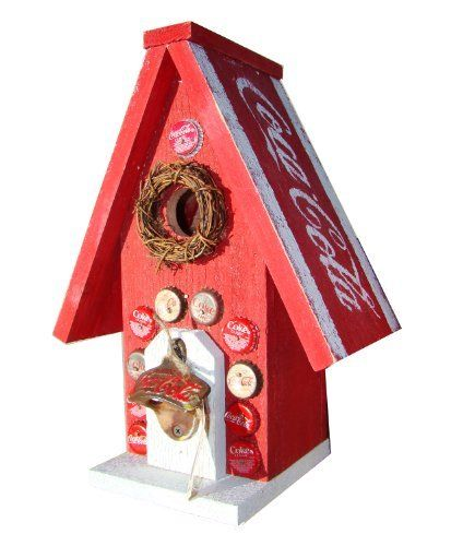Funky randy birdhouse coca cola classic special real for Funky house classics