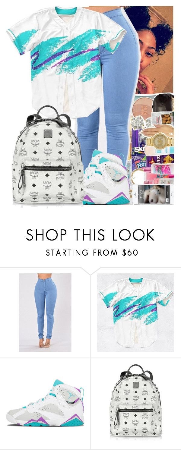 """""""Untitled #241"""" by issaxmonea ❤ liked on Polyvore featuring MCM"""