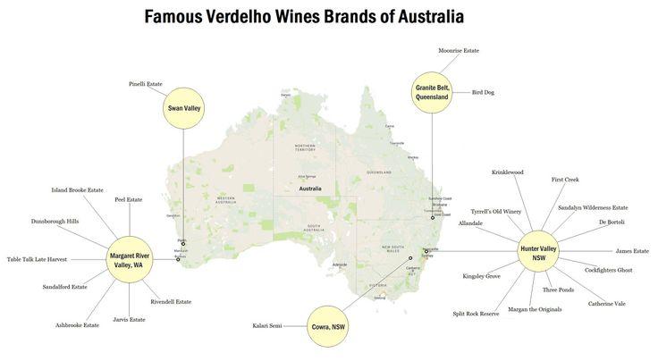 Famous Verdelho Wines Brands of Australia