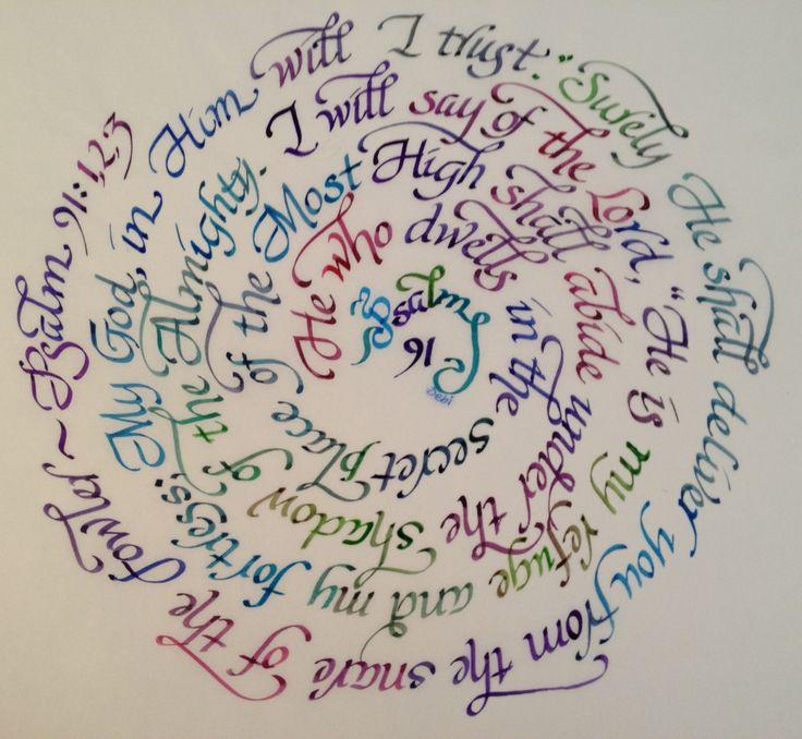 Psalm 91 ScriptureScribe.com 850.936.9376