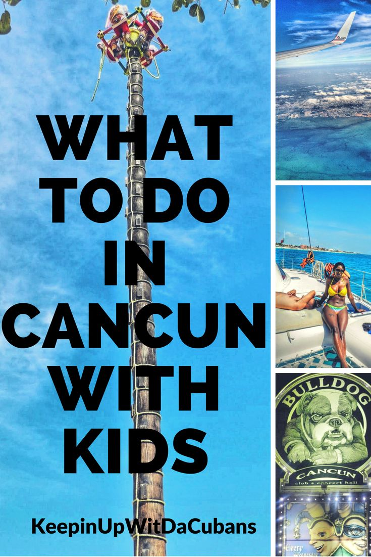 What to Do In Cancun With Kids