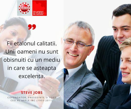 Citatul saptamanii.  #calitate #unprietendecalitate #feldergruppe #qualityquotes