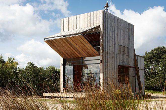 Whangapoua Sled House, Coromandel Peninsula, New Zealand. 480-square feet -- and moveable!!! Awesome home!!! Bebe'!!!